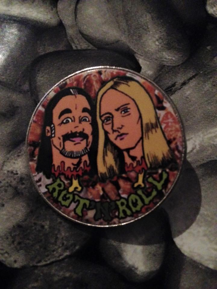 Image of Rot 'n' Roll pin