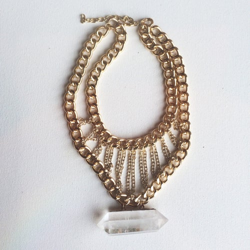 Image of Queen TIYE Quartz Necklace