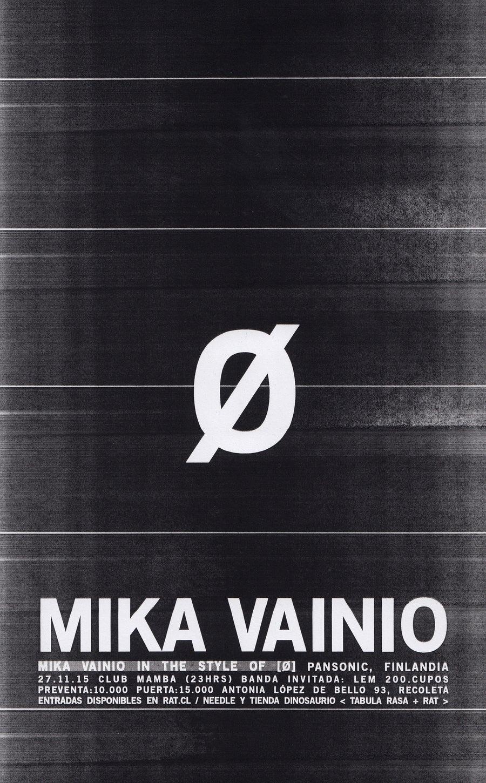 Image of MIKA VAINIO [Ø]