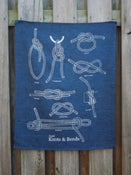 Image of Knots Tea Towel