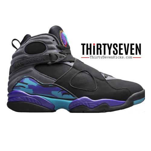 "Image of Jordan Retro 8 ""Aqua"" Preorder"
