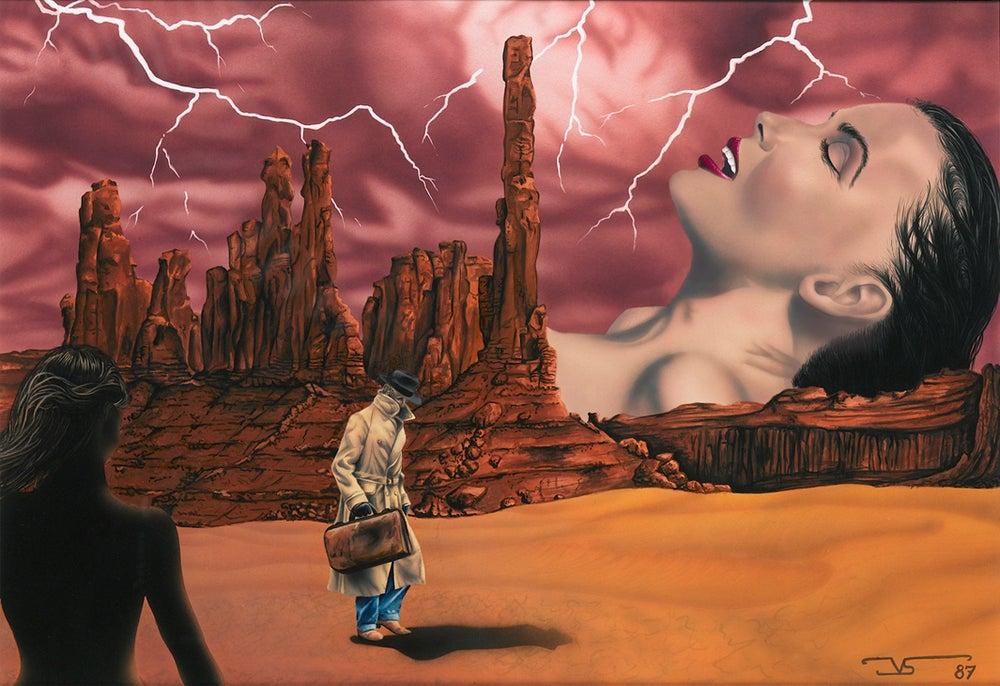 Image of A MAL TIEMPO -  A BAD WEATHER © Jose Vicente Santamaria 1987 Valencia-Spain
