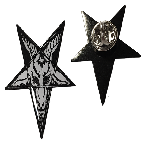 Image of Baphomet - Collectors Pin
