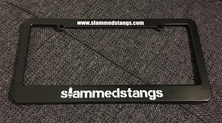 Image of slammedstangs license plate frame