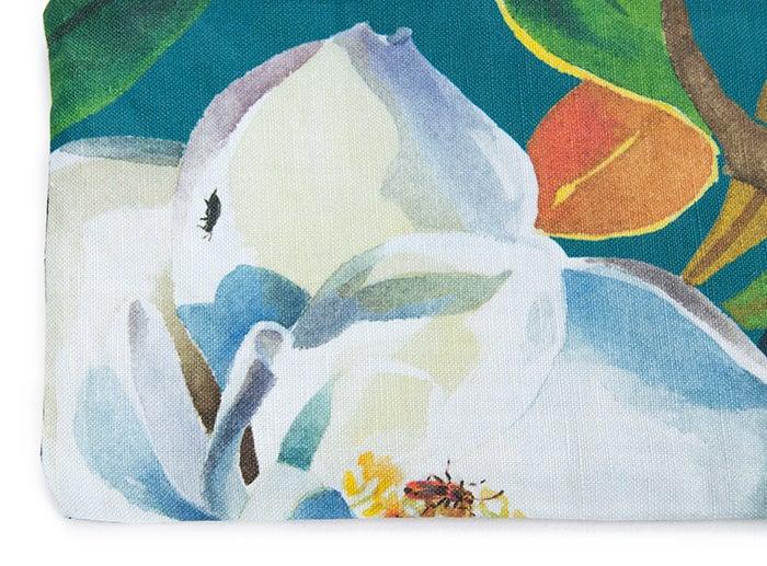 Image of Magnolia Grandiflora Canvas Pouch #3