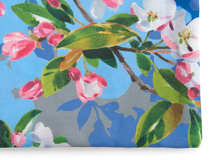Image of Wild Apple & Honey Bee Canvas Pouch #2