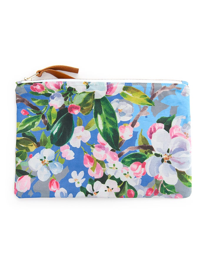 Image of Wild Apple & Honey Bee Canvas Pouch #3