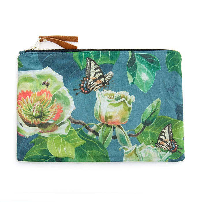 Image of Tulip Tree Canvas Pouch #1