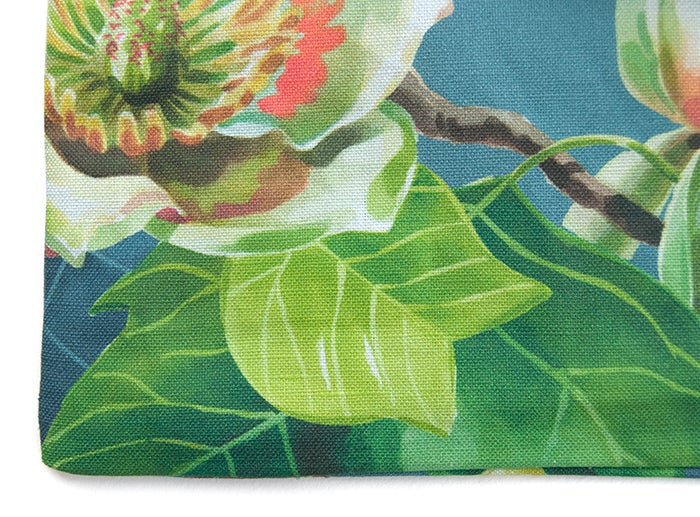 Image of Tulip Tree Canvas Pouch #2