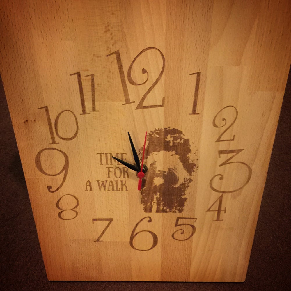Image of Cockapoo Living Clock