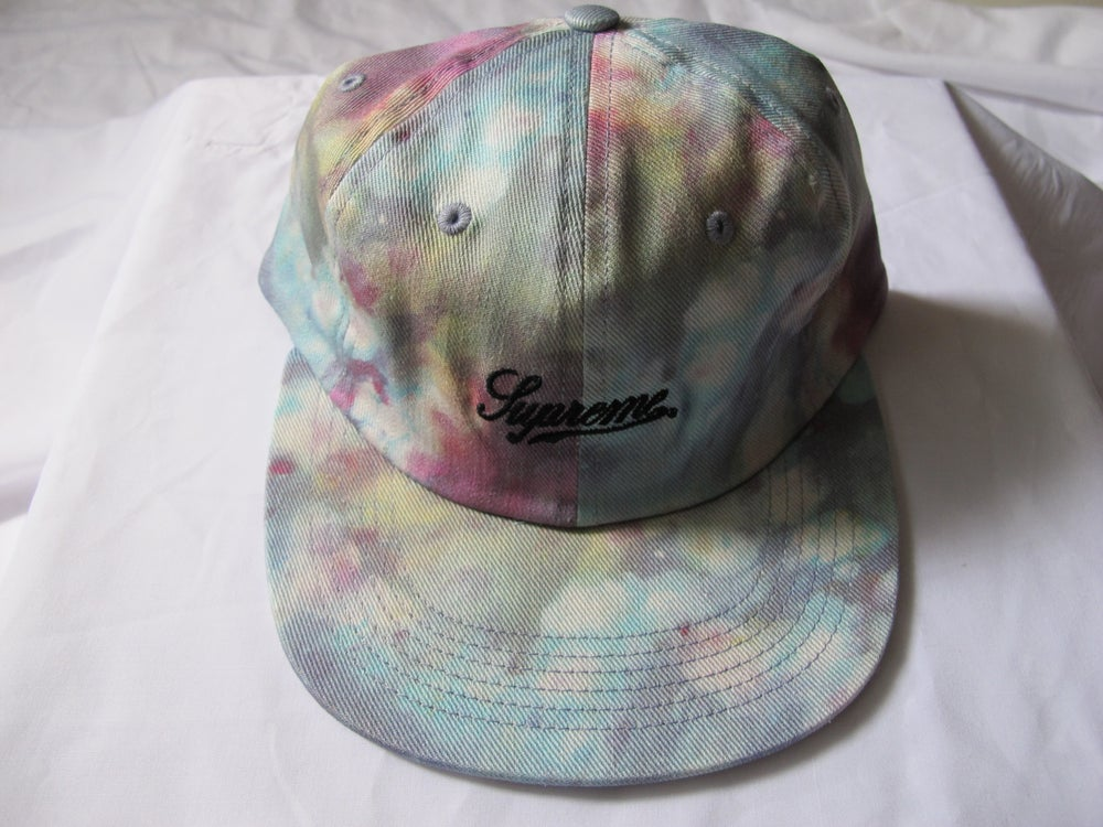 Image of Supreme - Liberty Twill 6-panel (Light Blue)
