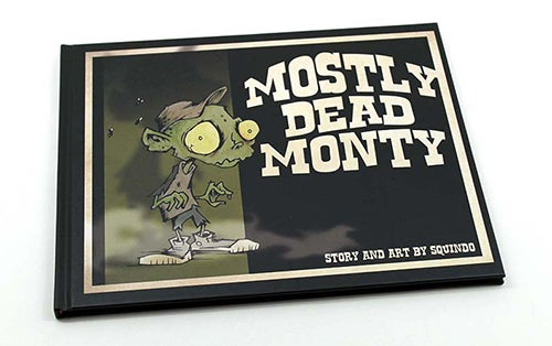 Image of MOSTLY DEAD MONTY