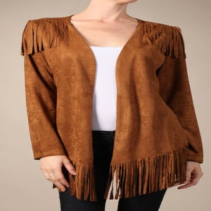 Image of Jasmine fringe jacket
