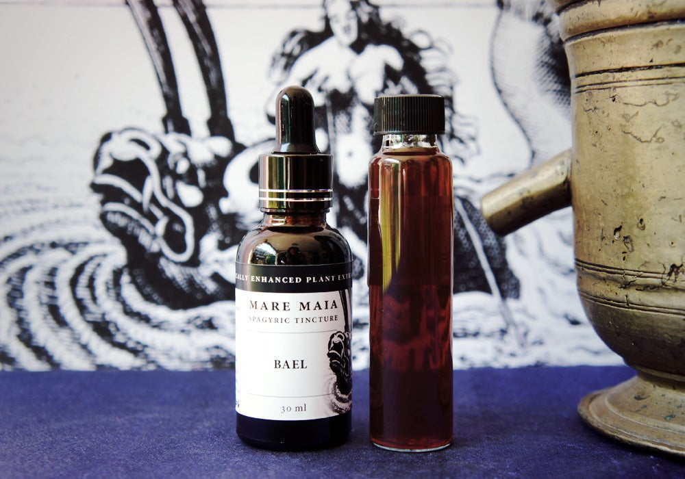 Image of BAEL spagyric tincture - alchemically enhanced plant extraction