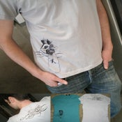 Image of Mountains and Tumult crew tees