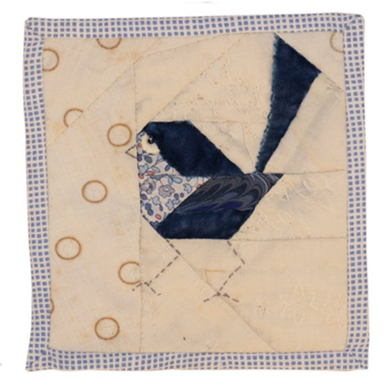Image of Quilted Bird Wall Hanging - 2