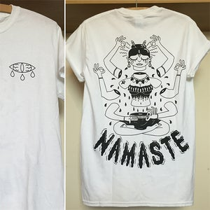 Image of Namaste t shirt