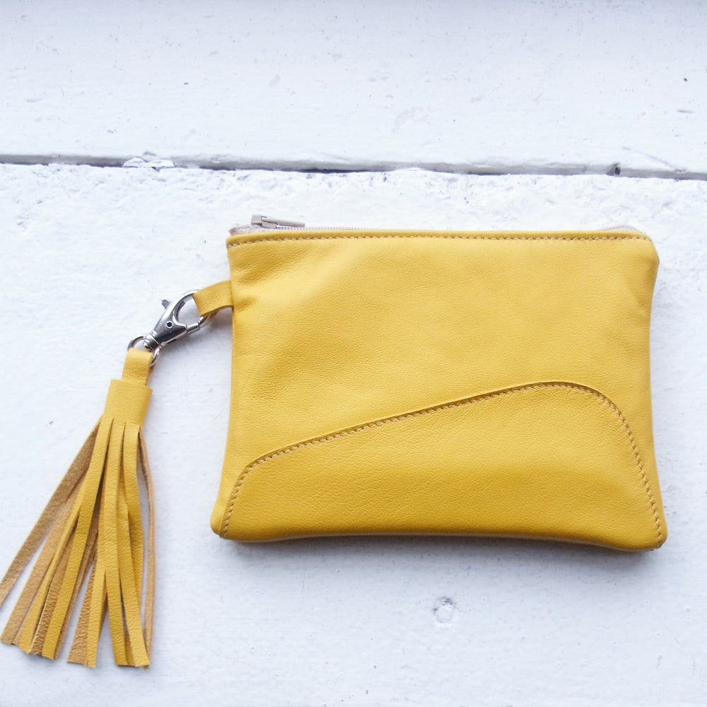 Image of Evening Ally Pally Purse, yellow