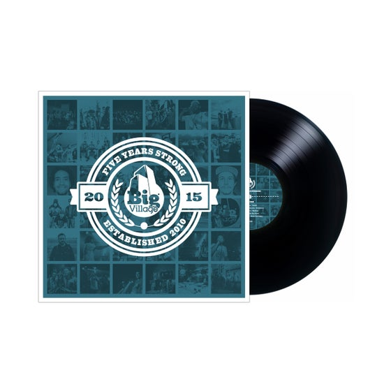 Image of Big Village - 5 Years Strong Vinyl LP
