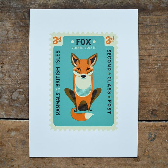 Image of Fox Stamp