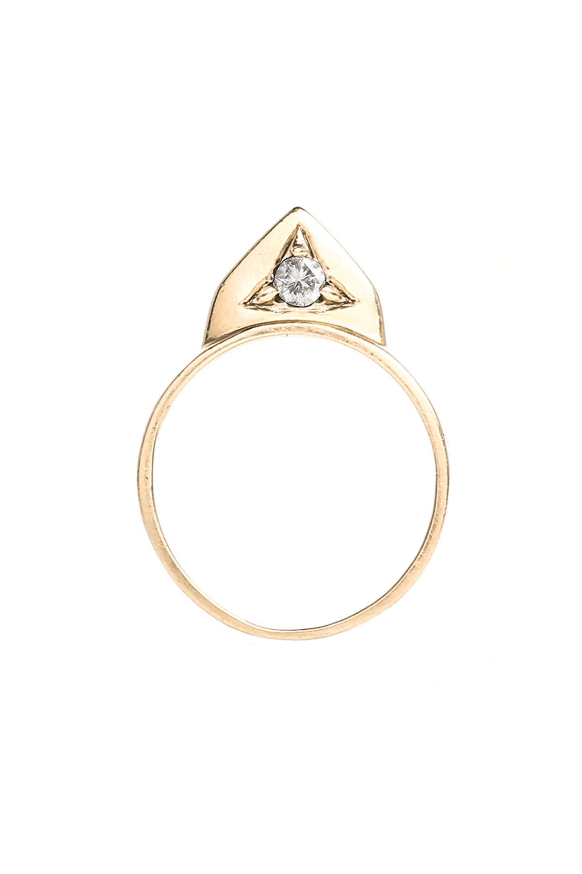 Image of DIAMOND BRUISER RING