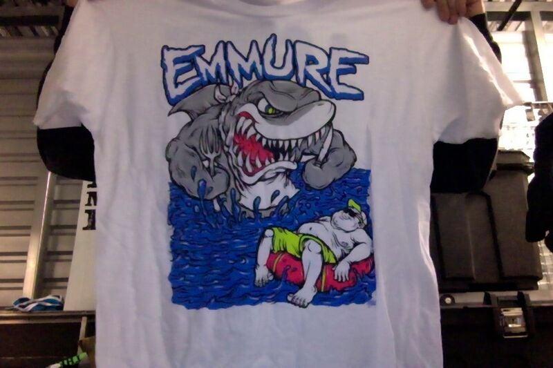 Image of EMMURE SHARK T-SHIRT