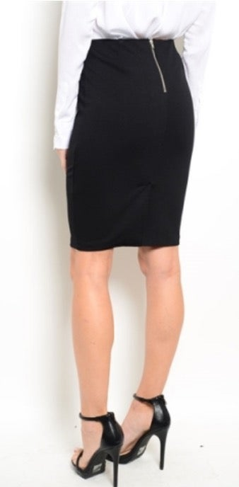 Image of Penciled In Skirt