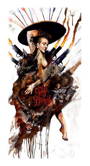Image of Henry Lewis: Wolf Dreams Print
