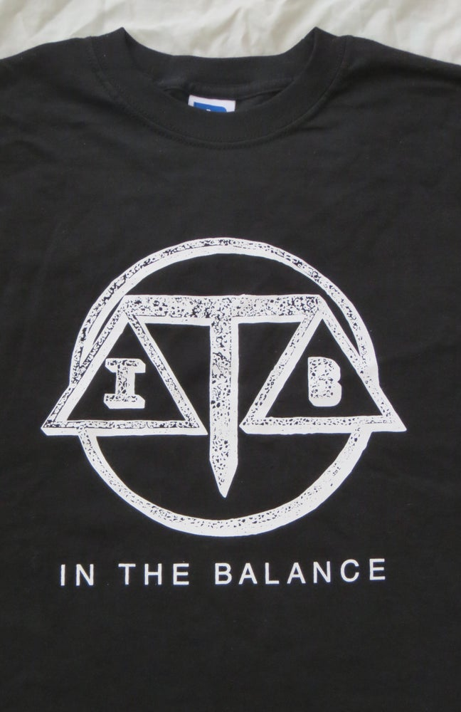 Image of In The Balance T Shirt Black