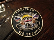 "Image of ""Members ONLY"" Challenge Coin"