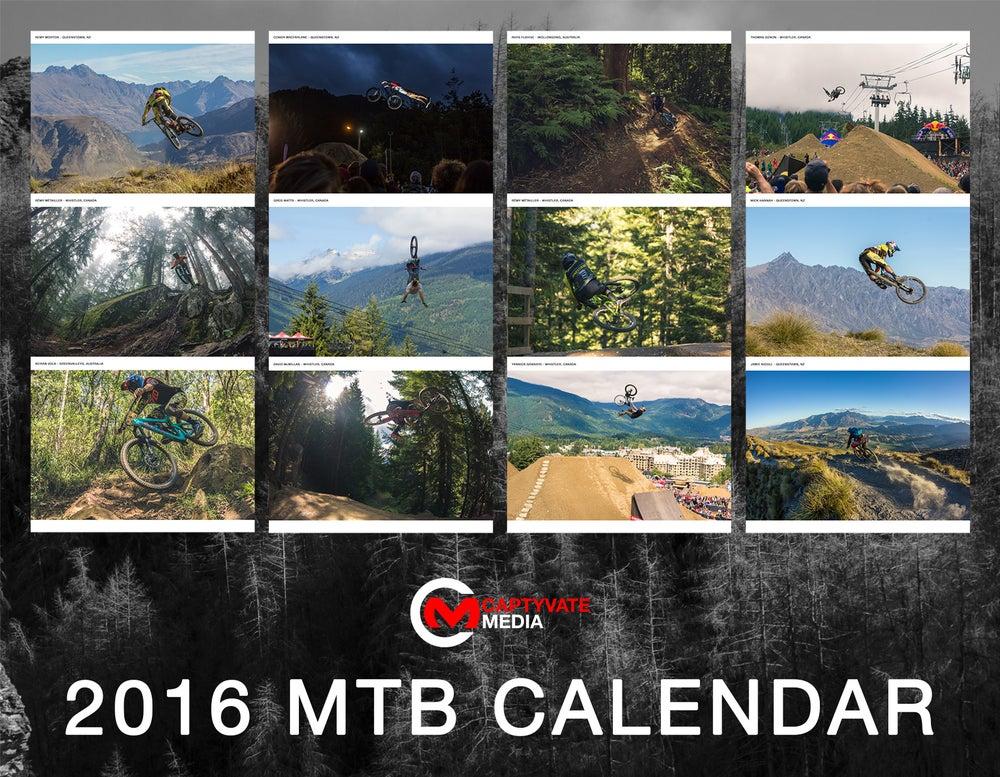 Image of 2016 MTB Calendar