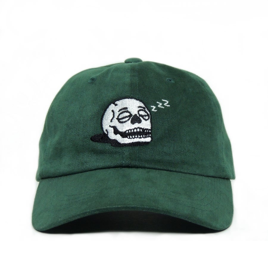 Image of Sleeping Skull Cap - Spruce Green