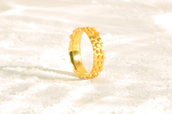 Image of Refrain, Ring in Fairmined gold 18k