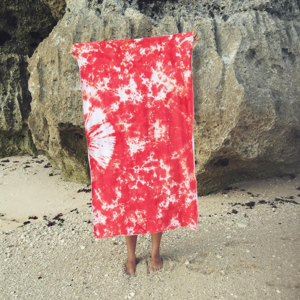 Image of ST LUCIA TRAVEL TOWEL