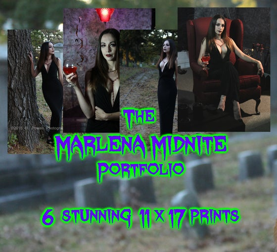 Image of Marlena Midnite Photo Print Portfolio