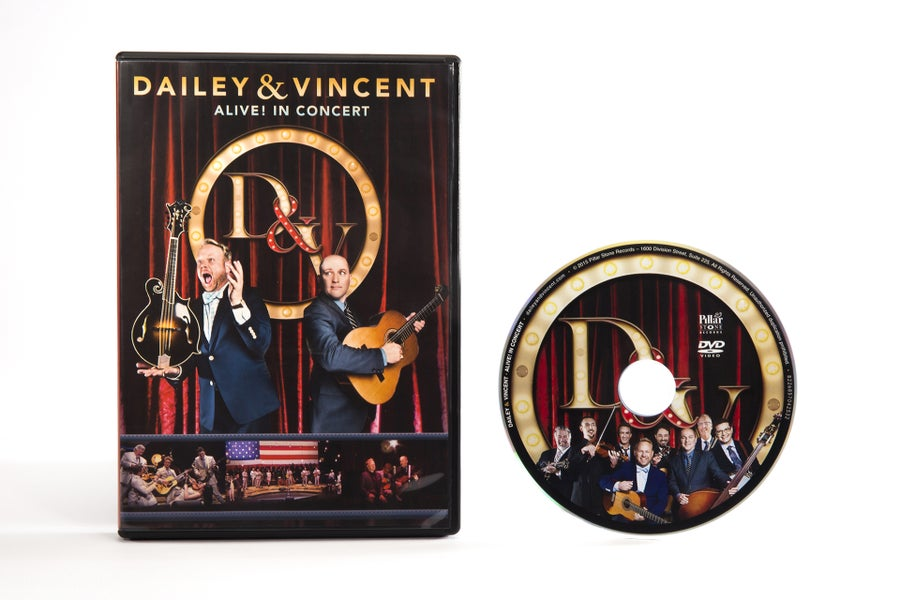 Image of Dailey & Vincent - ALIVE! In Concert DVD