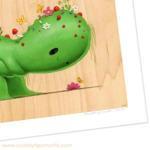 "Image of ""Bloob"" Giclee Print"