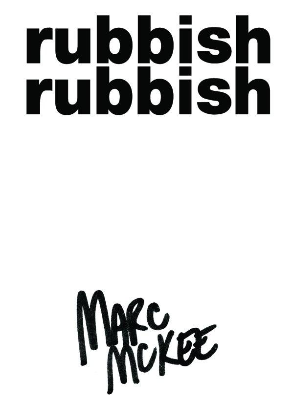 Image of Rubbish Rubbish 13 Marc McKee Snake