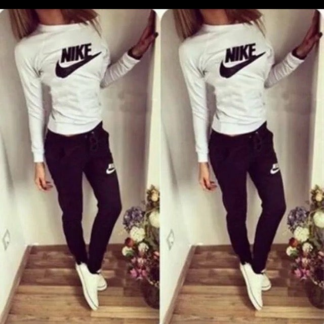 Image of Ladies Nike Casual Tracksuit