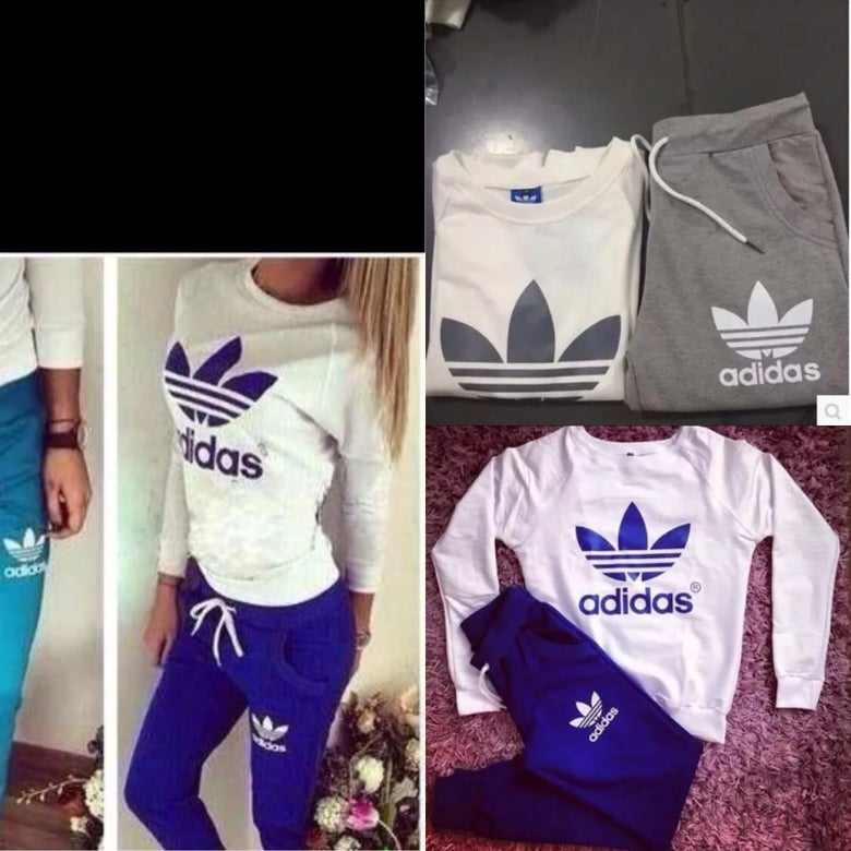 Image of Ladies casual adidas tracksuit