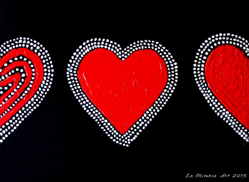 Image of Love Series - Red Heart