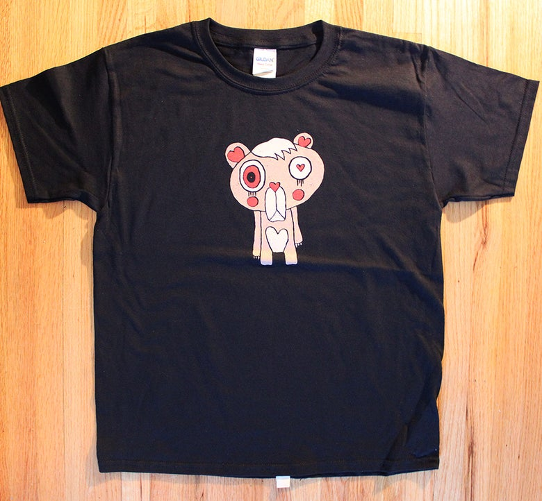 Image of I Don't Care Bear (Adult & Youth SIze T-shirts)
