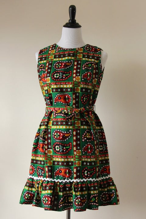 Image of Paisley Png Kueh Dress