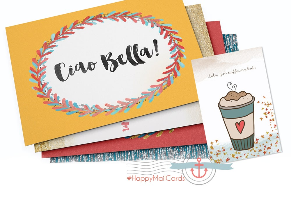 Image of Chose your design from #HappyMailCards