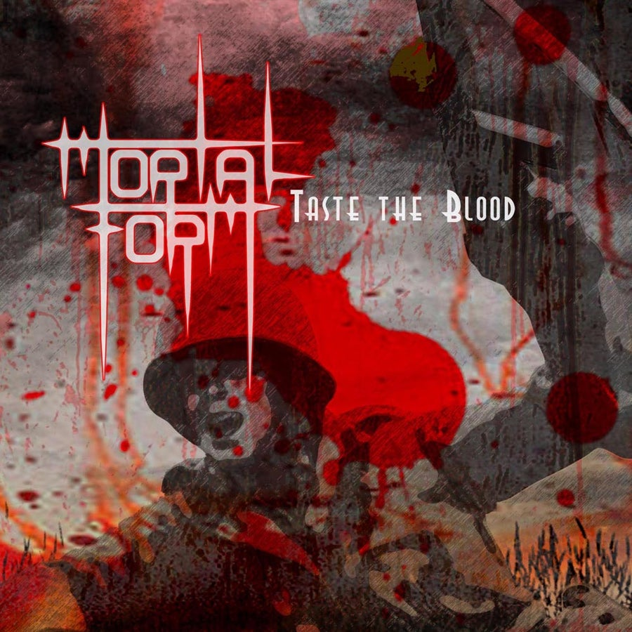 "Image of MORTAL FORM ""Taste The Blood"" CD"