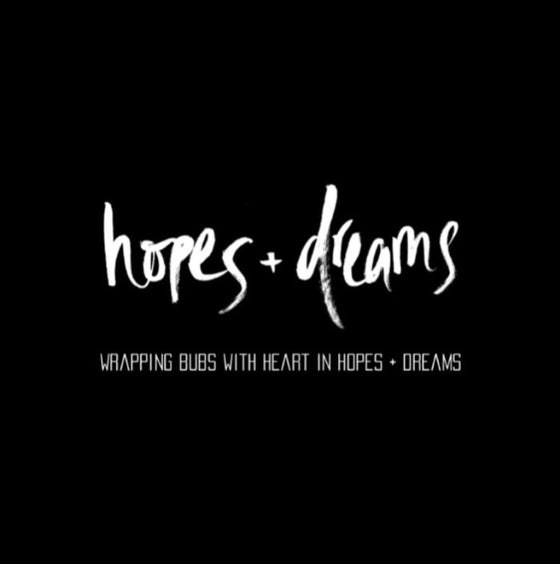 Image of HOPES + DREAMS ORGANIC COTTON SWADDLE BLANKET