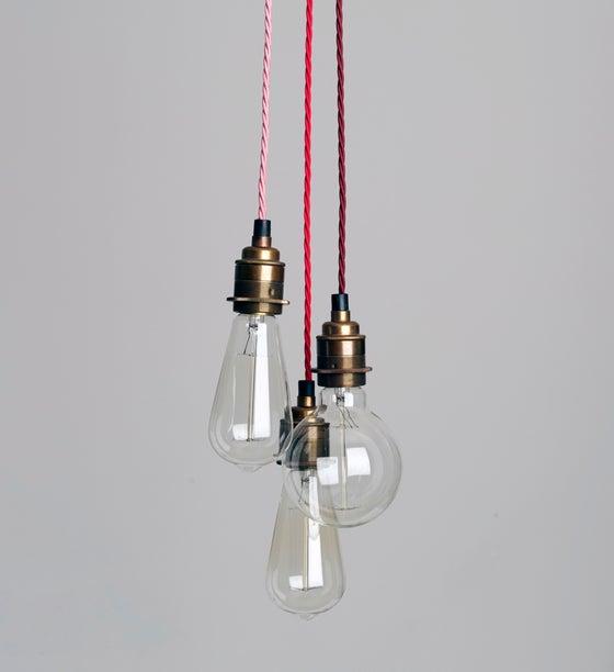 Image of Three Strand Cluster Pendant Light