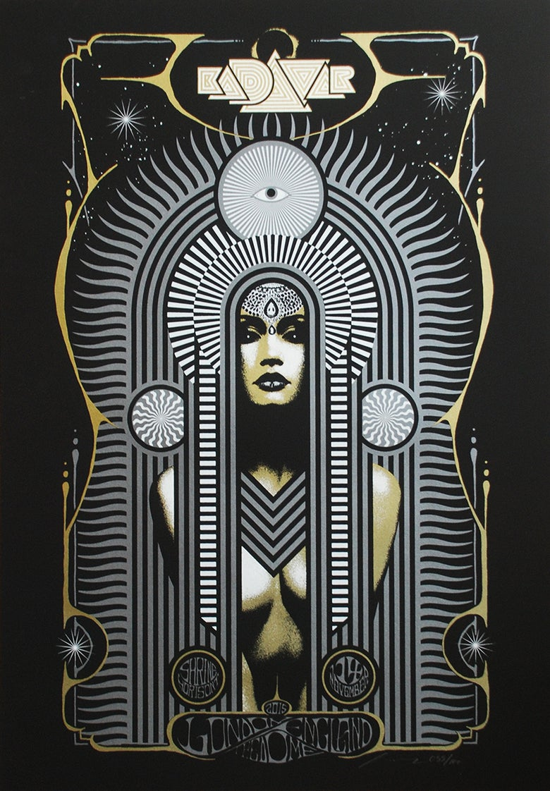 Image of KADAVAR - London Silkscreen Poster -