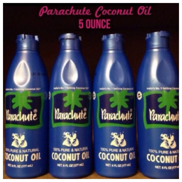Image of Parachute Coconut Oil (Four 5oz bottles)