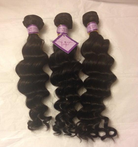 Image of 100% Virgin Human Hair-Loose Deep Wave
